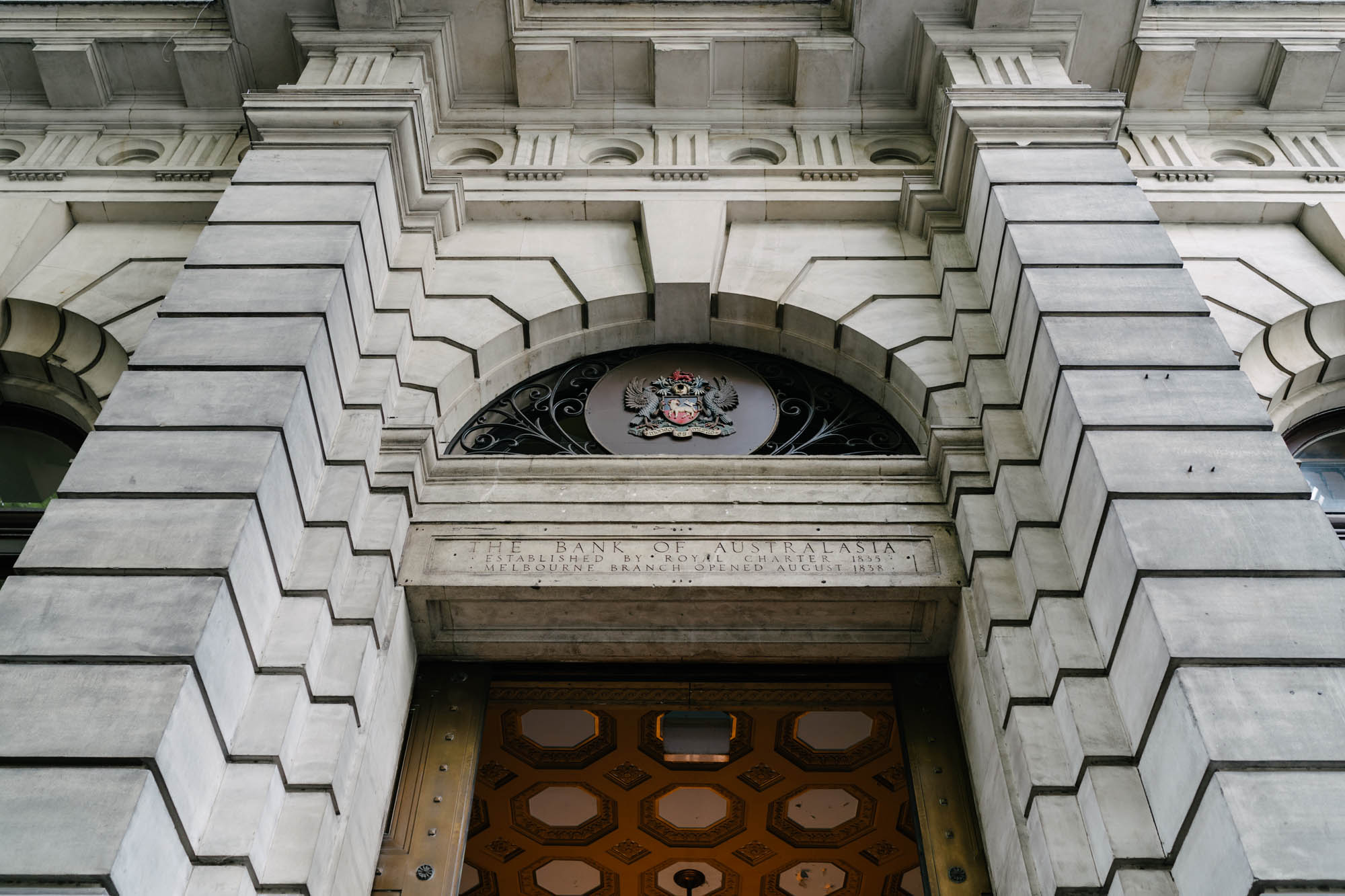 Melbourne Heritage Listed Building - The Bank of Australasia